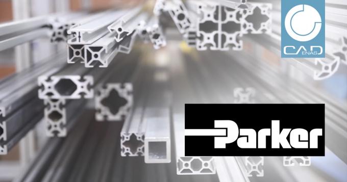 """Parker Hannifin lance """"Parker T-Slot Aluminium Design Architect"""", un outil gratuit de conception d'éléments en aluminium, créé par CADENAS"""