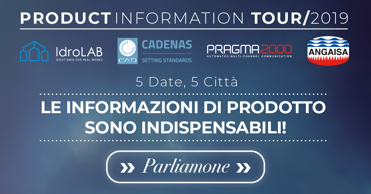 Product Information Tour 2019 Milano