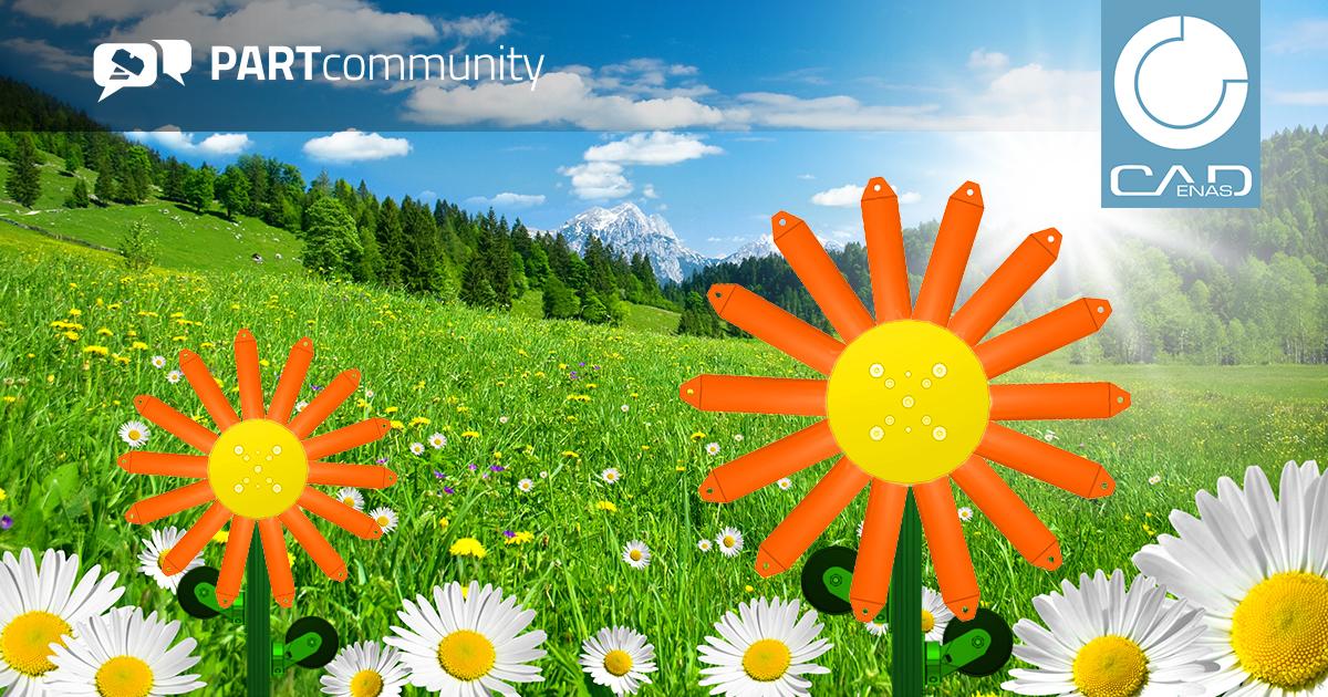 La primavera è il periodo della fioritura: anche i download da PARTcommunity fioriscono e raggiungono il record mensile di oltre 25,9 milioni di modelli CAD 3D