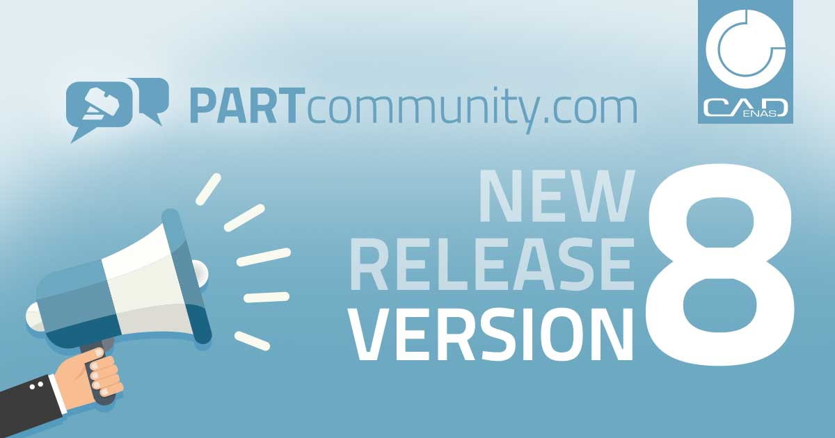 PARTcommunity Version 8 powered by CADENAS
