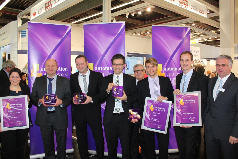 Verleihung des automation app awards